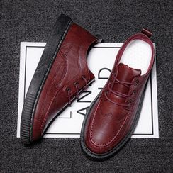 MARTUCCI - Stitched Lace-Up Shoes