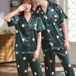 Voomer - Dotted Pajama Set