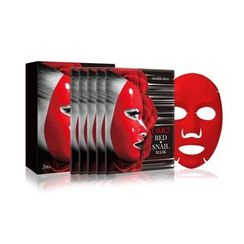 double dare - OMG! Red Snail Mask Set