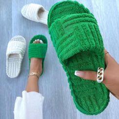 Avanti(アヴァンティ) - Fluffy Slide Sandals