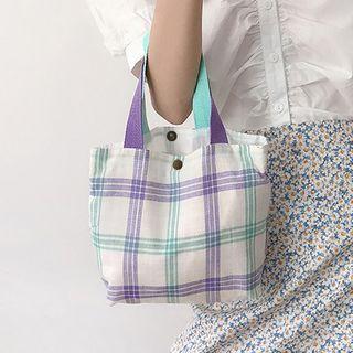 Geolte - 格子手提袋