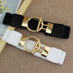 Coco Rush - Wide Elastic Belt with Buckle