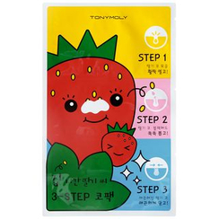 魔法森林家园 - Homeless Strawberry Seeds 3 Step Nose Pack