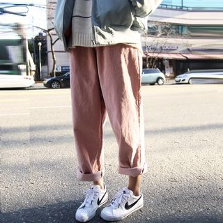 Tanee - Wide-Leg Corduroy Pants