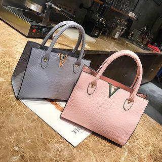 Polnocna - Faux-Leather Handbag