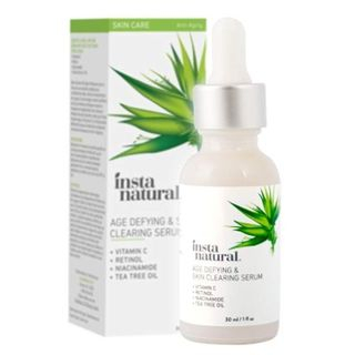 InstaNatural - Age Defying & Skin Clearing Serum