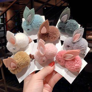 Shinto - 3D Rabbit Hair Tie / Hair Clip