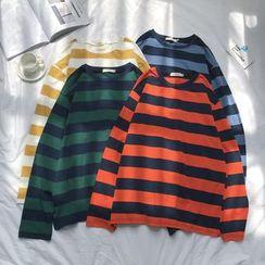 KERB - Striped Long-Sleeve T-Shirt