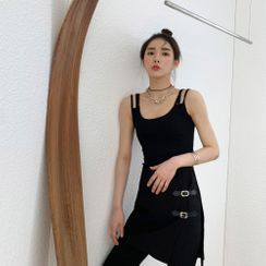 PPGIRL(PPガール) - Double-Strap Camisole Top