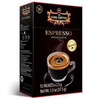 King Coffee - Vietnamese Arabica Espresso Instant Coffee 2.5g x15