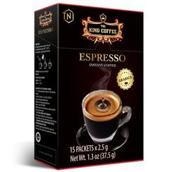 King Coffee - Vietnamese Arabica Espresso Instant Coffee 2.5g x15