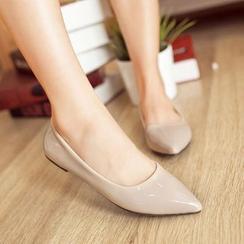 Megan(ミーガン) - Pointy Toe Flats