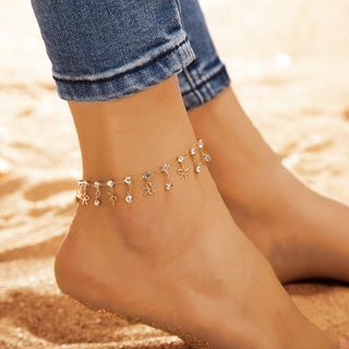 Yongge - Rhinestone Anklet