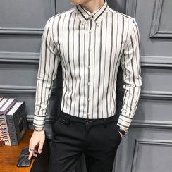 NYEON - 條紋襯衫