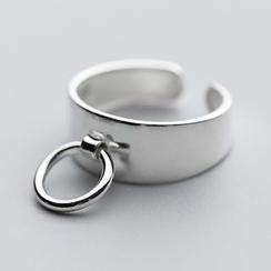 A'ROCH - 925 Sterling Silver Hoop Open Ring