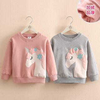 Seashells Kids - Kids Unicorn Print Pullover