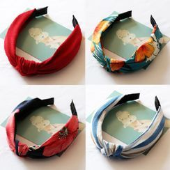 LIDO - Knotted Fabric Headband (Various Designs)