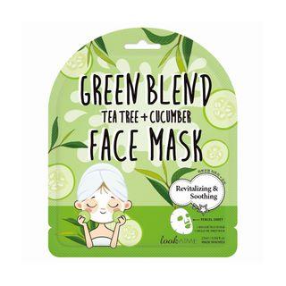 lookATME - Green Blend Tea Tree + Cucumber Face Mask
