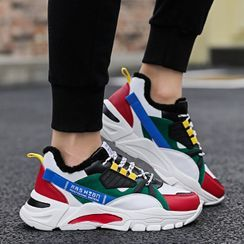MARTUCCI - Platform Lace Up Sneakers