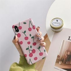 Just In Case - Cherry Print Mobile Case - Huawei / Honor