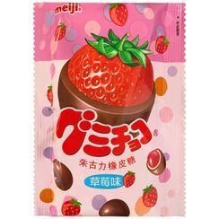 meiji - Strawberry Gummy Chocolate 53g