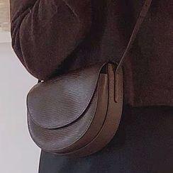 Barba(バルバ) - Faux Leather Crossbody Bag