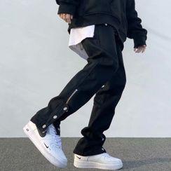 Wolfkane - Zip-Accent Straight Leg Pants