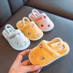 Doradas - 小童刺繡抓毛拖鞋