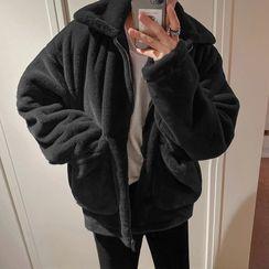 MRCYC - Plain Fleece Zip-Up Jacket