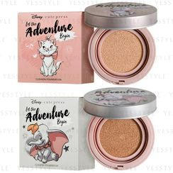 Cute Press - Let The Adventure Begin Oil Control Cushion Foundation SPF 50+ PA+++ - 2 Types