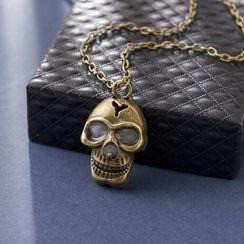 Glamiz - Skull Glowing Necklace