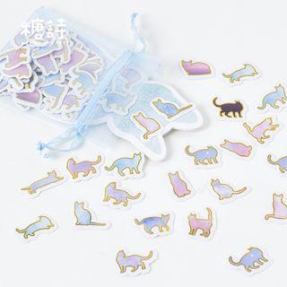 Little Planet - Pegatinas de gato 100 uds.