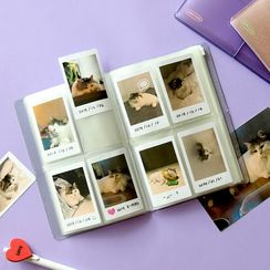BABOSARANG - Banded Transparent Polaroid Photo Album (S)