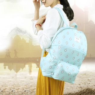 Lezi Bags - Printed Foldable Lightweight Backpack