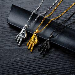 Tenri - Hand Pendant / Necklace / Set