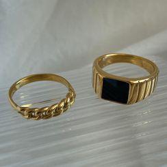Betsuno - 不鏽鋼戒指 (多款設計)