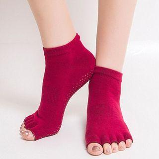 AUM - 半趾瑜伽防滑襪子
