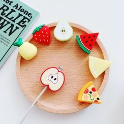Jadette - Silicone Food Phone Charging Cable Protector