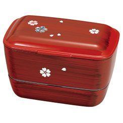 Hakoya - Hakoya Dome 2-Tier Lunch Box 610ml (Mokume Yayoi)