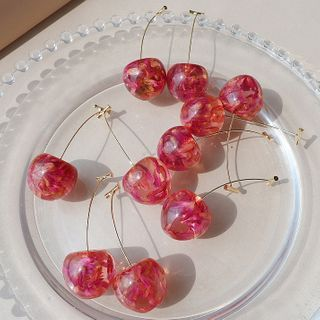 Catalunya - Cherry Drop Earring