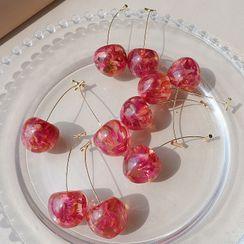 Catalunya - Cherry Dangle Earring
