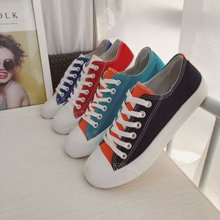 Filmas - Color Block Canvas Sneakers