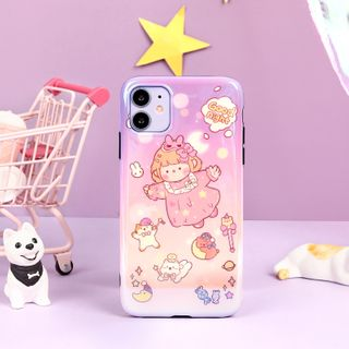 Milk Maid - Girl Print Mobile Case - iPhone 7 / 7 Plus / 8 / 8 Plus / X/ XR / XS / XS MAX / 11 / 11 Pro / 11 Pro Max