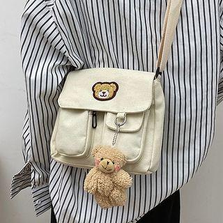 Youme - Flap Canvas Crossbody Bag