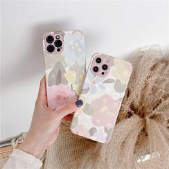 Surono - Flower Phone Case - iPhone 12 Pro Max / 12 Pro / 12 / 12 mini / 11 Pro Max / 11 Pro / 11 / SE / XS Max / XS / XR / X / SE 2 / 8 / 8 Plus / 7 / 7 Plus