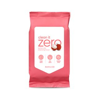 BANILA CO - Clean It Zero Lychee Vita Cleansing Tissue