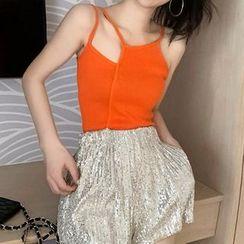 Silky Kiss - Cutout Camisole