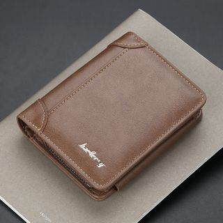 BagBuzz - Faux Leather Trifold Wallet
