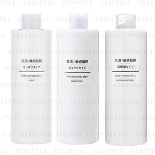 MUJI - Sensitive Skin Moisturising Milk 400ml - 2 Types