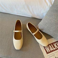 CYOS - Plain Block Heel Mary Jane Pumps